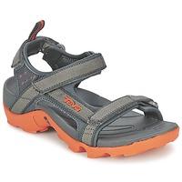 kengät Pojat Urheilusandaalit Teva TANZA Grey