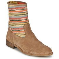 kengät Naiset Bootsit Goldmud COLON Taupe / Monivärinen