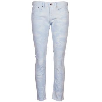 vaatteet Naiset 5-taskuiset housut Roxy SUNTRIPPERS TIE-DYE Blue