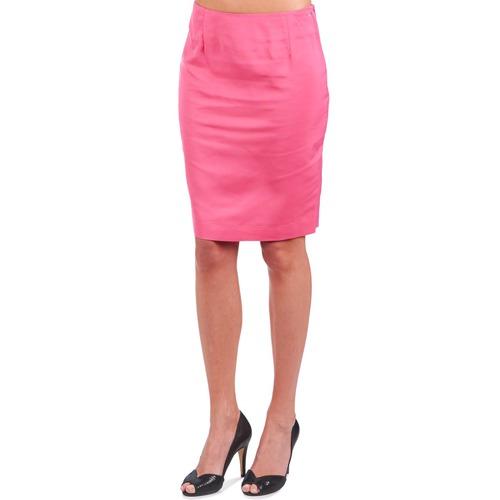 La City Jupe2d6 Pink - Ilmainen Toimitus- Vaatteet Hame Naiset 33