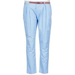 vaatteet Naiset Chino-housut / Porkkanahousut La City PANTBASIC Blue
