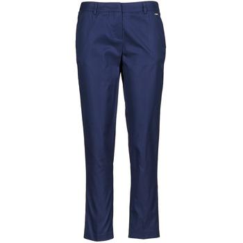 vaatteet Naiset Caprihousut La City PANTD2A Blue