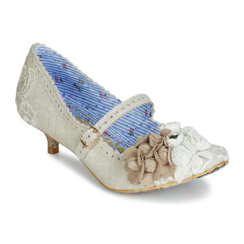 kengät Naiset Korkokengät Irregular Choice DAISY DAYZ Beige / Multicolour