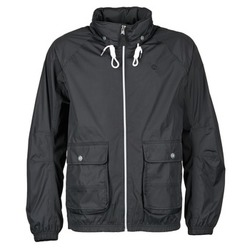 vaatteet Miehet Tuulitakit Timberland FRANKLIN HOODED JACKET Black
