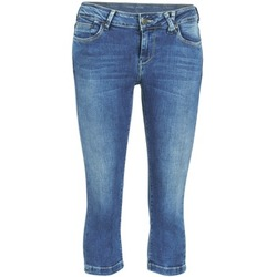 vaatteet Naiset Caprihousut Teddy Smith PANDOR COURT COMF USED Blue