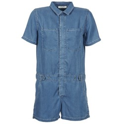 vaatteet Naiset Jumpsuits / Haalarit Teddy Smith CALINCA DENIM LYOCELL Blue