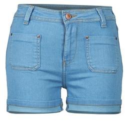 vaatteet Naiset Shortsit / Bermuda-shortsit School Rag SUN Sininen