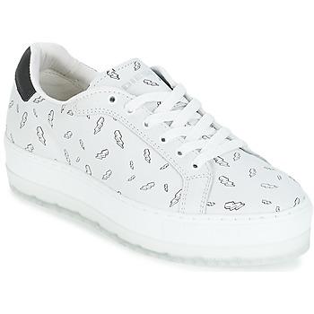 kengät Naiset Matalavartiset tennarit Diesel S-ANDYES  WOMAN White