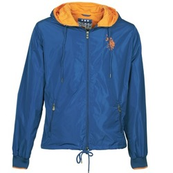 vaatteet Miehet Pusakka U.S Polo Assn. EIGHTEEN 90 Blue / Orange
