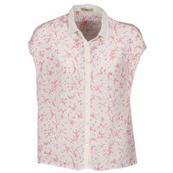 vaatteet Naiset Lyhythihainen paitapusero Lola CANYON White / Red