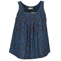 vaatteet Naiset Hihattomat paidat / Hihattomat t-paidat Lola CUBA Blue / Black