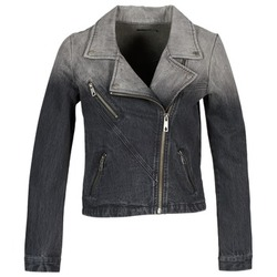 vaatteet Naiset Farkkutakki Volcom DENIMES Black
