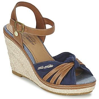 kengät Naiset Sandaalit ja avokkaat Tom Tailor BASTIOL Laivastonsininen