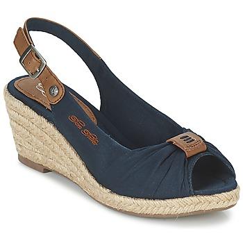 kengät Naiset Sandaalit ja avokkaat Tom Tailor FARALO Laivastonsininen