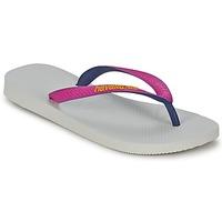 kengät Naiset Varvassandaalit Havaianas TOP MIX Valkoinen / Vaaleanpunainen