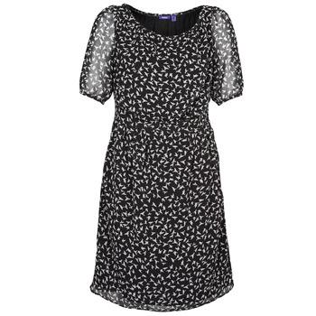 vaatteet Naiset Lyhyt mekko Mexx 13LW130 Black / White