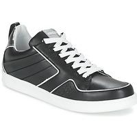 kengät Naiset Matalavartiset tennarit Kenzo K-FLY Black / Argenté