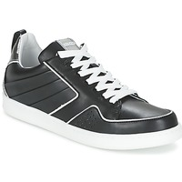 kengät Naiset Matalavartiset tennarit Kenzo K-FLY Black / Hopea