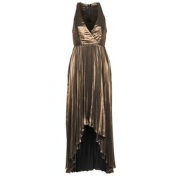 vaatteet Naiset Pitkä mekko Manoukian 612556 Kulta