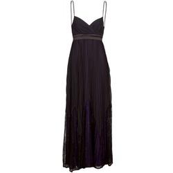 vaatteet Naiset Pitkä mekko Manoukian 612933 Black