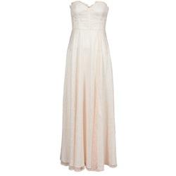 vaatteet Naiset Pitkä mekko Manoukian 613346 Pink / Beige