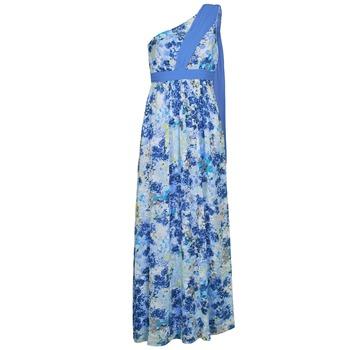 vaatteet Naiset Pitkä mekko Manoukian 613356 Blue