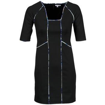 vaatteet Naiset Lyhyt mekko Manoukian 613369 Black