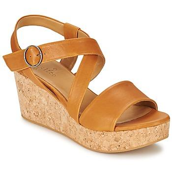 kengät Naiset Sandaalit ja avokkaat Coclico MEL Camel