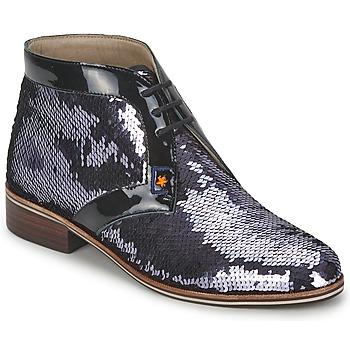kengät Naiset Bootsit C.Petula PEGASE Argenté
