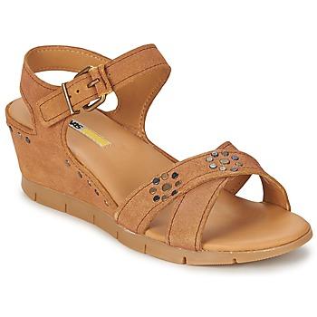 kengät Naiset Sandaalit ja avokkaat Manas  Camel