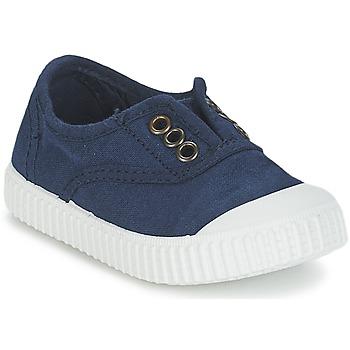 kengät Lapset Matalavartiset tennarit Victoria INGLESA LONA TINTADA Laivastonsininen