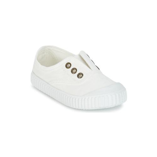 kengät Lapset Matalavartiset tennarit Victoria INGLESA LONA TINTADA White