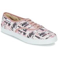 kengät Naiset Matalavartiset tennarit Victoria INGLES PALMERAS Pink