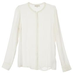 vaatteet Naiset Paitapusero / Kauluspaita Cream PANSY ECRU