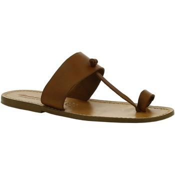 kengät Naiset Bootsit Gianluca - L'artigiano Del Cuoio 554 U CUOIO CUOIO Cuoio