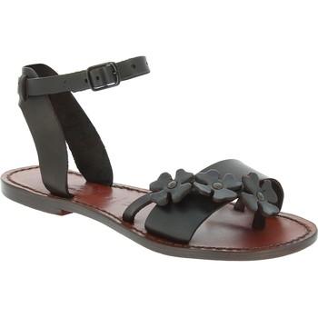 kengät Miehet Sandaalit ja avokkaat Gianluca - L'artigiano Del Cuoio 593 D MORO CUOIO Testa di Moro