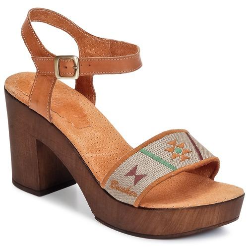 kengät Naiset Sandaalit ja avokkaat Bunker LUCY Brown / Taupe