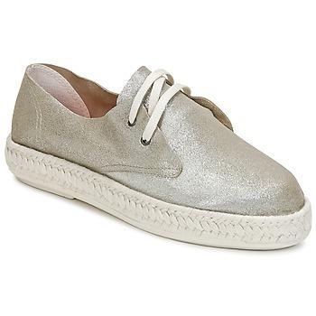 kengät Naiset Espadrillot Bunker IBIZA Argenté