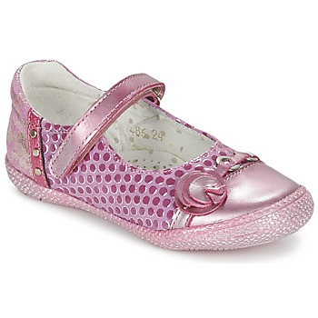 kengät Tytöt Balleriinat Babybotte KAYLINE Vaaleanpunainen