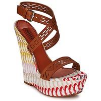 kengät Naiset Sandaalit ja avokkaat Missoni XM015 Brown / Monivärinen