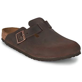 kengät Miehet Puukengät Birkenstock BOSTON Ruskea