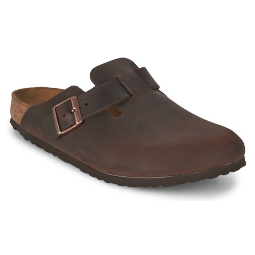 kengät Puukengät Birkenstock BOSTON Brown