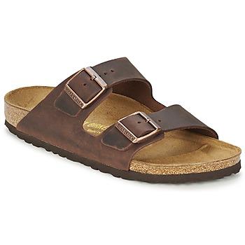 kengät Miehet Sandaalit Birkenstock ARIZONA Brown