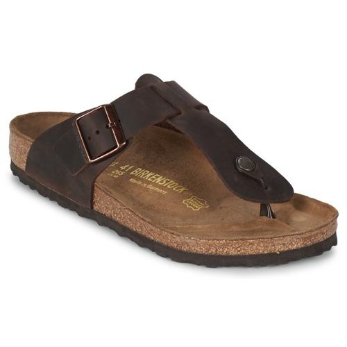 kengät Miehet Varvassandaalit Birkenstock MEDINA PREMIUM Brown