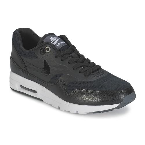 kengät Naiset Matalavartiset tennarit Nike AIR MAX 1 ULTRA ESSENTIAL W Black