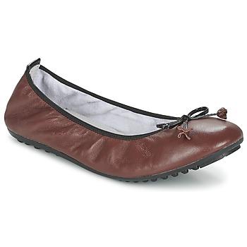 kengät Naiset Balleriinat Mac Douglas ELIANE Brown
