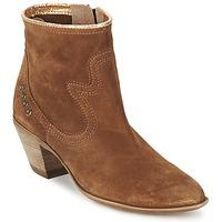 kengät Naiset Nilkkurit Spiral HEIDI Brown / Gold