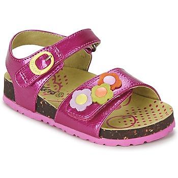 kengät Tytöt Sandaalit ja avokkaat Kickers MAGIFLOWER Fuksia
