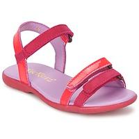kengät Tytöt Sandaalit ja avokkaat Kickers ARCENCIEL Fuksia / Pink