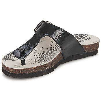 kengät Tytöt Varvassandaalit Kickers DITIK Musta